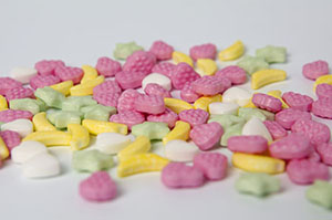 confectionery tablets