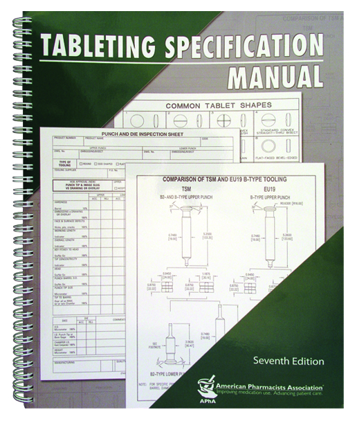 tabletting specification manual tsm rh natoli com tableting specification manual 7th edition pdf Press Machine